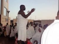 Moijueh KaiKai addressing the pilgrims on arrival