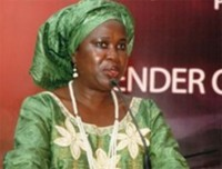 Minority Leader of Parliament, Hon. Dr. Bernadette Lahai