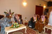 Amb. Kargbo receives envoys of the Riyadh Governor