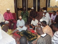 Sierra Leoneans in Saudi praying against the spread of Ebola