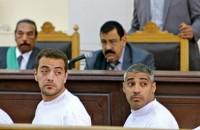 Al Jazeera journalists in Cairo court