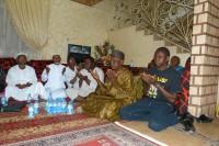 Sierra Leoneans praying against Ebola