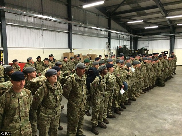 British Army Arrived in Sierra Leone