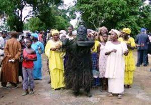 Girls initiation celebration