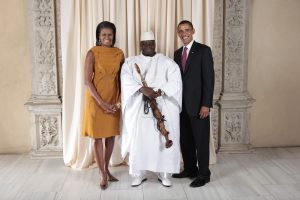 Jammeh and the Obama Couple