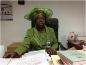 Dr. Bernadette Lahai, Victories Vice President of Pan African Parliament and Minority Leader of Sierra Leone Parliament