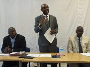 Mr. JPJ Sandy (CEO CNU-SL), Addressing SLPP Members