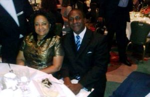 Dr. & Mrs. Kandeh Yumkella attends Africa America Institute 60th Anniversary Awards Gala at the New York Hilton in Manhattan