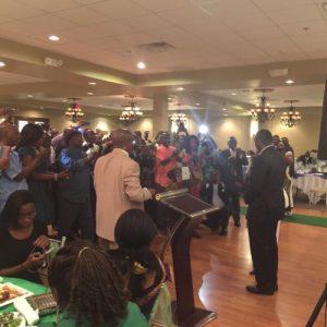 KKY meeting Sierra Leoneans in Texas