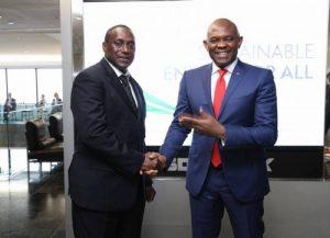 Yumkella winning the warm approbation of multibillionnaire, Chief Elumelu