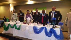Kandeh meeting Sierra Leoneans in Texas