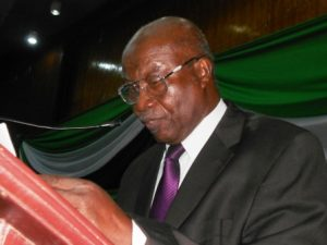 Pro-Chancellor of University of Sierra Leone, Rev.Canon.Dr. J.E.Modupeh Taylor Pearce
