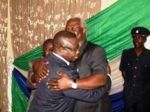 Bio and President Koroma