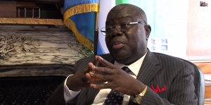 Ambassador Bokari Kortu Stevens, Sierra Leone Ambassador to the United States of America