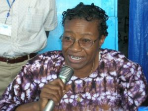 Christiana Thorpe, is she really the Deputy Minister of Education, Science and Technology?