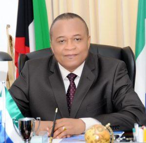 Ambassador Ibrahim Kamara, Sierra Leone Ambassador to Kuwait