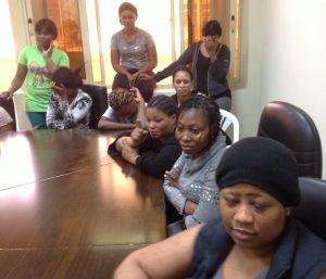 Sierra Leonean Maids Meeting With Ambassador Kamara