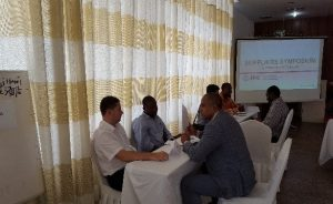 AMR Gold Country Director interacts with Suppliers