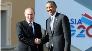 Obama And Putin Break The Ice By Shaking Hands At G20 Summit