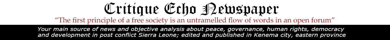 Critique Echo Newspaper
