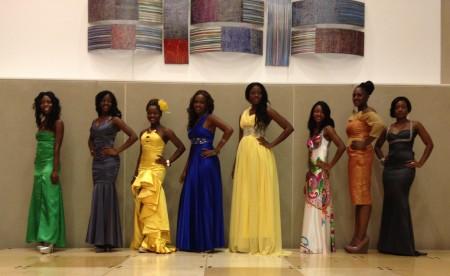 Eight beautiful MSLUSA Contestants